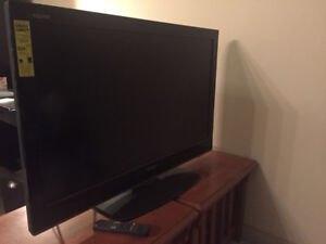 Sharp 42'' For Sale!!! Remote included