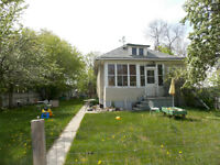 2 bedroom house with large yard in Rosemont