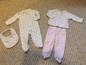 Baby Girl 4-Piece Matching Outfit (6 months)