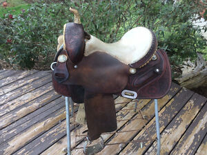 "14"" Double J Barrel Saddle"