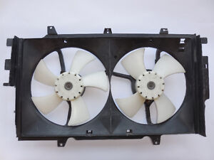 Nissan Maxima 1989-1993 Auxiliary Dual Fan Assembly 2148196E07