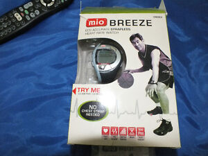 MIO BREEZE ECG ACCURATE STRAPLESS HEART RATE WATCH