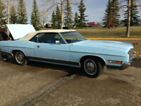 For sale, 1972 Ford LTD Convertible