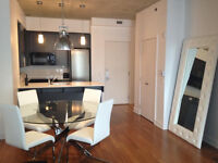 Fully furnished 1 bedroms Condo in downtown of Montreal