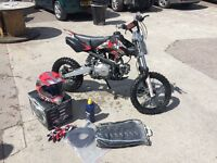 Complete children's dirt bike