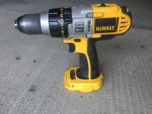 18V Dewalt XRP hammer drill