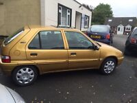 Citroen Saxo 1.1 ideal first car