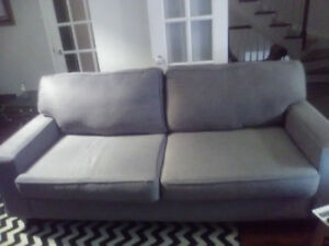 Sofa,Loveseat and modern chevron hipster rug for SALE $500