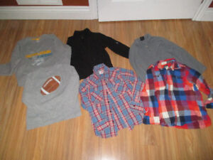 Boys size 7 hoodies and sweaters