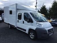 Fiat Ducato mess unit / welfrae vehicle crew cab