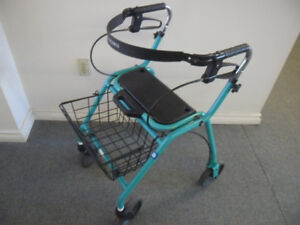 WALKER ROLLATOR for Medium to Tall Person,  Basket 416-483-1730