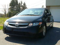 2008 Civic 4 Door Standard ((NEW MVI)) CALL 209-9180