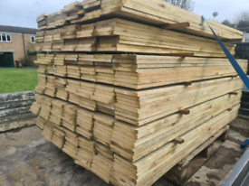 Timber fence boards