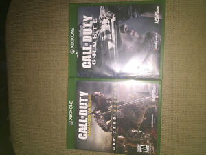 Advanced Warfare and Call of Duty Ghost games