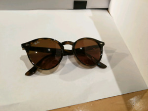 RB 2180 round sunglasses Ray-Ban brown