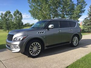 2015 Infiniti QX80 TECH package fully loaded