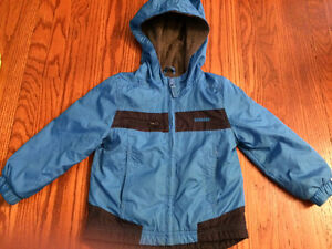 Boys 2T lined windbreaker Osh Kish excellent condition