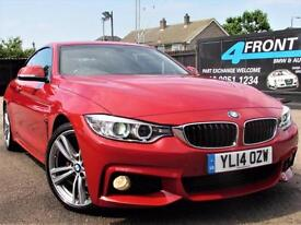 2014 BMW 4 SERIES 420D M SPORT COUPE 6 SPEED MANUAL DIESEL COUPE DIESEL