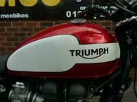 Triumph Bonneville Newchurch 2015 6300 miles only