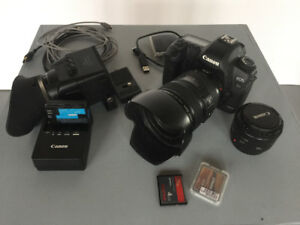 Canon 5D Mark II + 24-105mm + etc - $1800