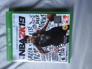 NBA 2k19 for Xbox one for sale!