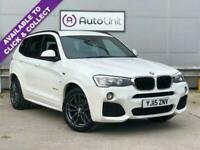 2015 BMW X3 2.0 XDRIVE20D M SPORT 5d 188 BHP Estate Diesel Automatic