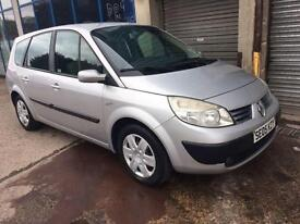Renault Grand Scenic 1.6 VVT 115 Expression 7 SEATER - 2005 05-REG -6 MONTHS MOT