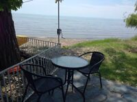 4-TWO COTTAGE-YOUR  SECLUDED BEACH. LBR DAY WKEND/ Aug 31-Sept 4