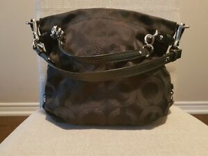 "Black ""C"" Coach Purse Oakville / Halton Region Toronto (GTA) image 1"