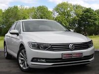 Volkswagen Passat 2.0 TDI BlueMotion Tech SE Business 4dr (start/stop) (white) 2015