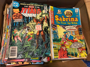 Various Comic books - mostly 1980's