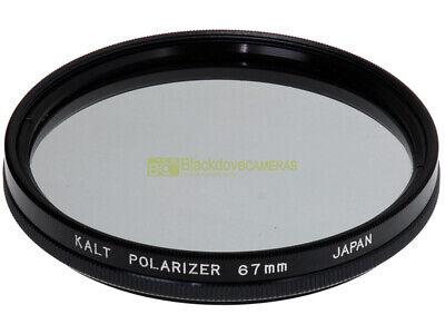 67mm. Filtro Polarizzatore circolare Kalt. Lente polarizzata. Polarizer filter.