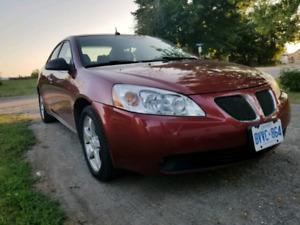 Clean 2008 Pontiac G6