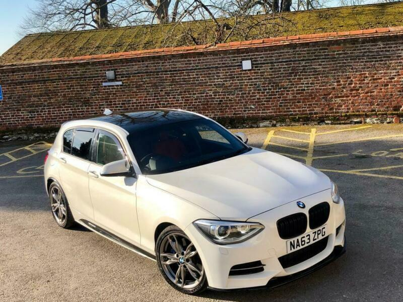 2014 63 Bmw M1 M135i Auto White Red Leather Full M Performance Pack In High Wycombe Buckinghamshire Gumtree