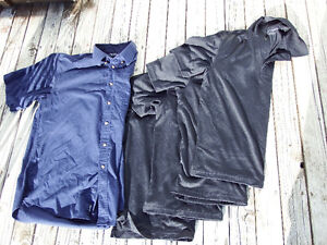 Four Men Medium Size Golf Shirts