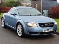 2003 Audi TT 1.8 T Coupe Quattro 3dr