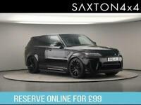 2018 Land Rover Range Rover Sport 5.0 P575 V8 SVR Auto 4WD (s/s) 5dr SUV Petrol