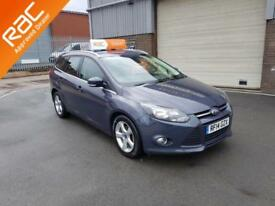 2014 FORD FOCUS 1.6TDCI ZETEC NAVIGATOR ONLY 105,000 MILES WARRANTED