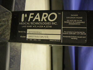 FARO ARM METRECOM MODEL AMETRECOM/91 MACHINE SHOP INSPECTION LAB Oakville / Halton Region Toronto (GTA) image 5