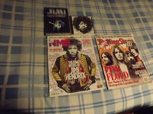 JIMI HENDRIX PACKAGE DEAL:3 ITEMS /MAGAZINE,CD,CONCERT DVD