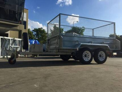 10x5 Hydraulic Tipper Trailer Hot Dipped Galvanized 3.5 Ton ATM Browns Plains Logan Area Preview