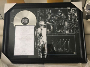 Tragically Hip momento picture 40/31 inches..brand new