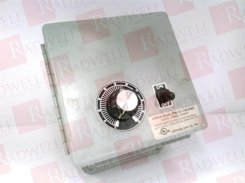 Rodix Inc 121-100-8260 / 1211008260 (used Tested Cleaned)