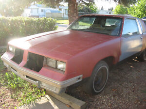 1985 Oldsmobile Cutlass with rally package