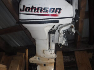 9.9HP JOHNSTON OUTBOARD