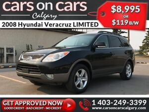 2008 Hyundai Veracruz LIMITED AWD w/Leather, Sunroof, Navi $119