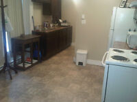 June rent $300, cute renovated bachelor, Utilities included