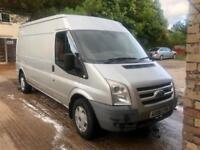 2006/06 FORD TRANSIT MK7 LX 2.4 TDCI 115 PS 6 SPEED RWD-LWB M/ROOF-124,000 MILES