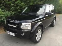 2008 LAND ROVER DISCOVERY 3 TDV6 COMMERCIAL 2.7 TURBO DIESEL 4X4 6 SPEED MANUAL