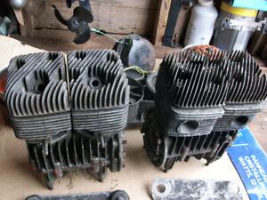 Type 305 Skidoo Rotax engines for parts or repair from the 70s